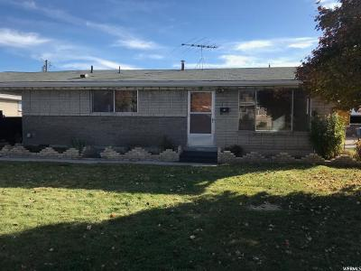 West Valley City Single Family Home For Sale: 1851 W 3300 S