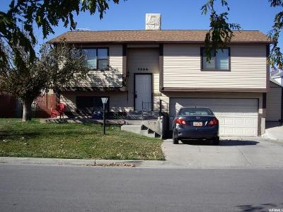 West Jordan Single Family Home For Sale: 7924 S 2940 W