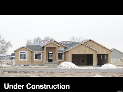Weber County Single Family Home For Sale: 4929 W 3350 S #22