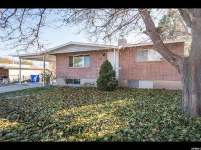 West Jordan Single Family Home For Sale: 3687 W 7825 S