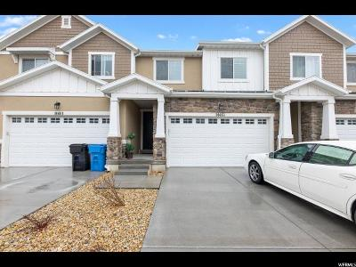 Herriman Townhouse For Sale: 14463 S Quiet Shade Dr