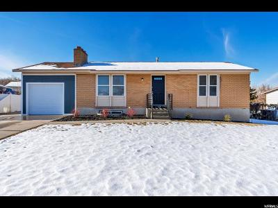 West Valley City Single Family Home For Sale: 3634 S 6310 W