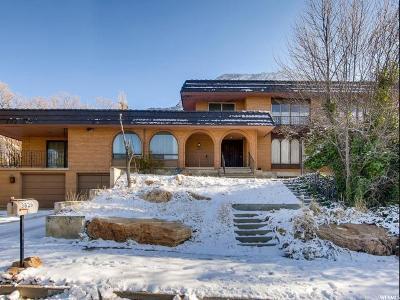 Salt Lake City Single Family Home For Sale: 3826 E Viewcrest Dr S