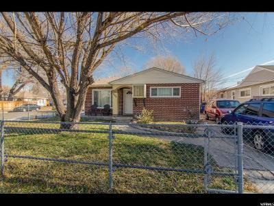 Salt Lake City Single Family Home For Sale: 999 S Emery W