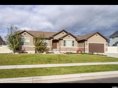 Lehi Single Family Home For Sale: 1534 W Jefferson St N