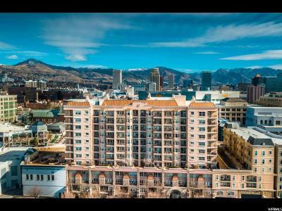 Salt Lake City Condo For Sale: 5 S 500 St W #910