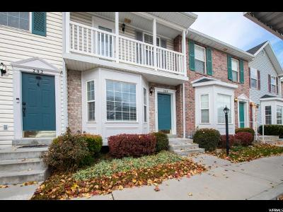 American Fork Townhouse For Sale: 288 S 460 E