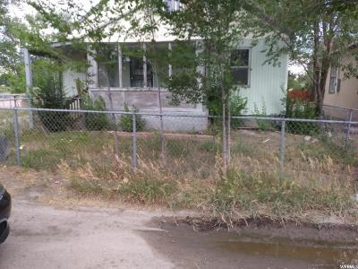 Price UT Single Family Home For Sale: $59,900