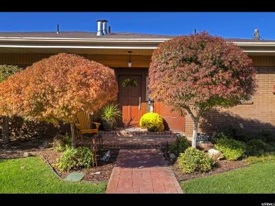 Salt Lake City Single Family Home For Sale: 1858 Wasatch Dr
