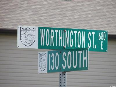 Tooele County Residential Lots & Land For Sale: 133 S Worthington St