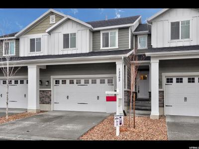 Draper Townhouse For Sale: 12205 S Fox Chase Dr