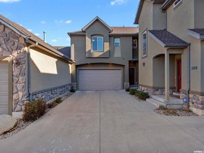 Draper Townhouse For Sale: 590 E Normandy Loop Ln