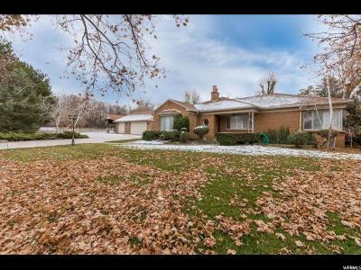 Holladay Single Family Home For Sale: 2106 E Fardown Ave S