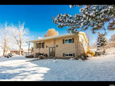 Cottonwood Heights Single Family Home For Sale: 7365 S 1540 E