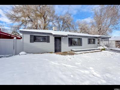 Salt Lake City Single Family Home For Sale: 4730 S 4720 W