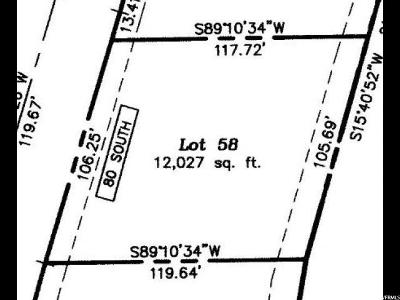 Smithfield Residential Lots & Land For Sale: 80 S 1250 E