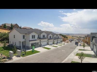 Lehi Townhouse For Sale: 4983 N Marble Fox Way E #138