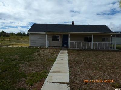 Fort Duchesne UT Single Family Home For Sale: $102,900