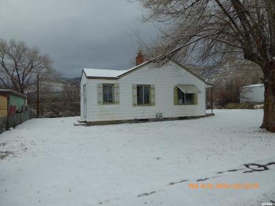 East Carbon UT Single Family Home For Sale: $16,500
