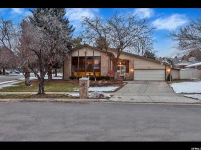 Cottonwood Heights Single Family Home For Sale: 8167 S Scandia Way E