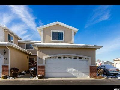 Orem Townhouse For Sale: 87 N 380 W
