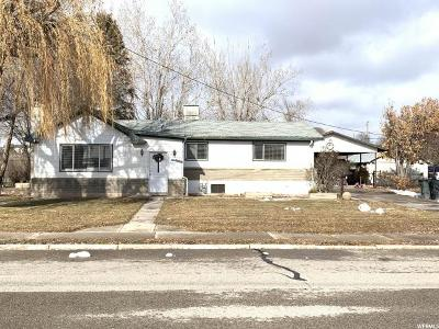 Wellington UT Single Family Home For Sale: $154,000
