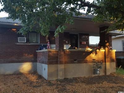 Weber County Single Family Home For Sale: 2576 Gramercy Ave