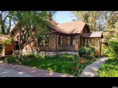 Salt Lake City Single Family Home For Sale: 3372 S Pioneer St E