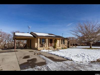 Santaquin Single Family Home For Sale: 40 E 900 S