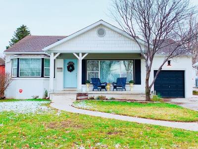 Salt Lake City Single Family Home For Sale: 2269 S 1900 E