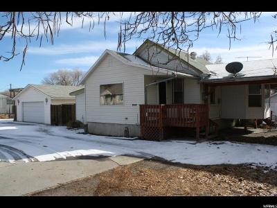 Helper UT Single Family Home For Sale: $155,000