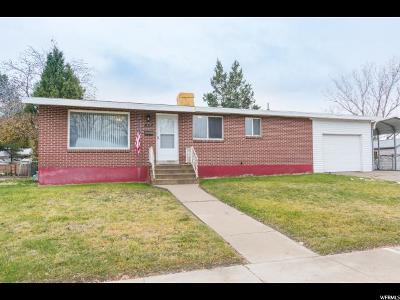 Layton Single Family Home For Sale: 419 Paul Ave