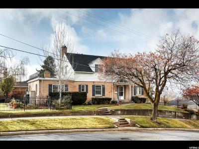 Salt Lake City Single Family Home For Sale: 2180 E 900 S