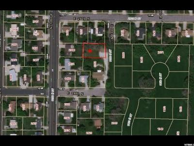 Weber County Residential Lots & Land For Sale: 2901 1100