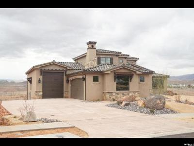 St. George Single Family Home For Sale: 1193 W Cresole Dr