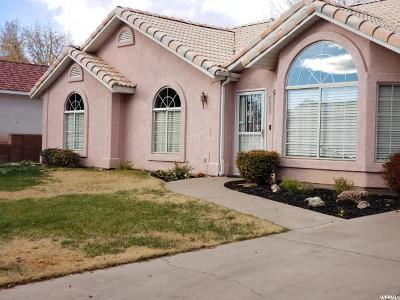 St. George Single Family Home For Sale: 2403 E 350 N