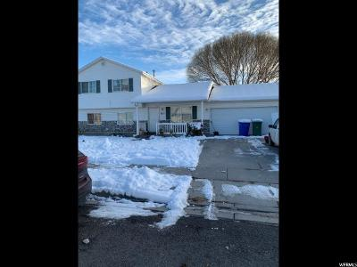 Lehi Single Family Home For Sale: 1613 W 525 S