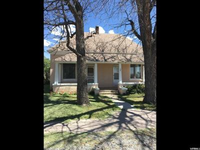 Single Family Home For Sale: 95 S 400 E
