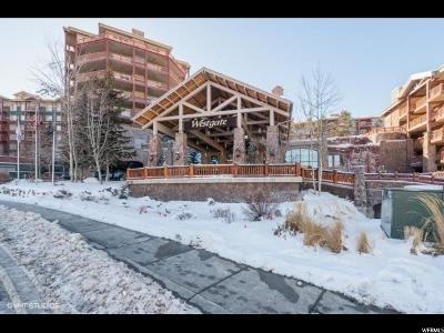 Park City Condo For Sale: 3000 Canyons Resort Dr