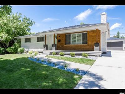 Salt Lake City Single Family Home For Sale: 1977 E Blaine Ave S