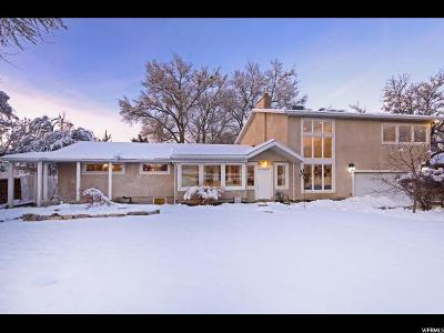 Holladay Single Family Home For Sale: 1669 E Merribee Way