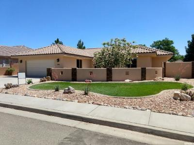 St. George Single Family Home For Sale: 1051 S 620 E