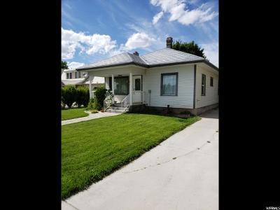 Preston Single Family Home For Sale: 119 E 100 N