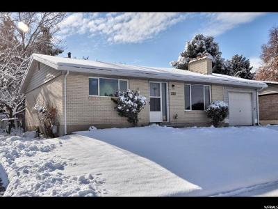 West Valley City Single Family Home For Sale: 3503 W 4400 S