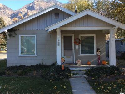 Provo UT Single Family Home For Sale: $215,000