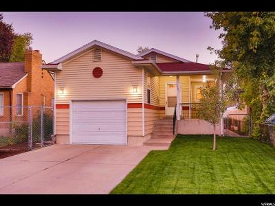 Salt Lake City Single Family Home For Sale: 1197 W Indiana Ave
