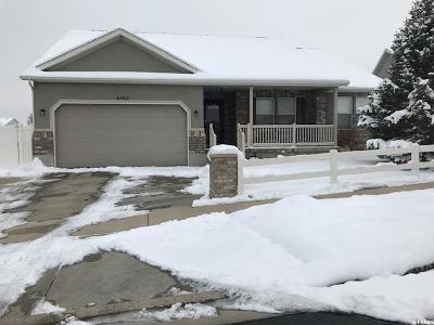 West Jordan Single Family Home For Sale: 6463 W Scarlet Oak Dr S