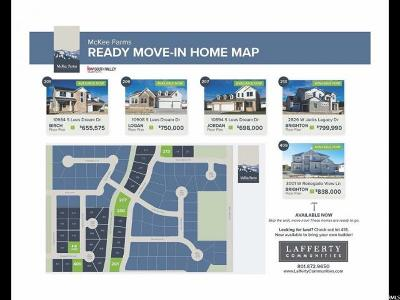 South Jordan Residential Lots & Land Under Contract: 10964 Champ Jasper Way