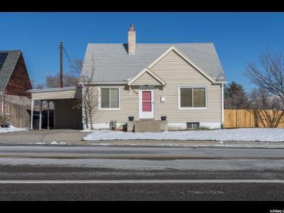 Murray Single Family Home For Sale: 289 E 4800 S