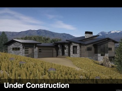 Wasatch County Single Family Home For Sale: 1452 N Chimney Rock Rd (Lot 443)